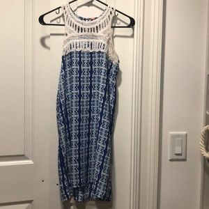 Eight Sixty Blue Shift Dress